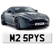 private number plate Aston Martin James Bond 007 M2 BMW Spy CCTV Boss M25 PYS