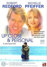 UP CLOSE AND PERSONAL DVD R4 ROBERT REDFORD MICHELLE PFEIFFER ***
