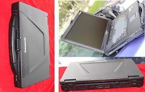 BLACK RHINO PANASONIC CF-52  CORE 2 DUO*,*WIN7*/2.26GHZ/ 4GB RAM, 250GB HD /