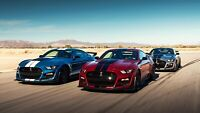 """2020 Ford Mustang Shelby GT500 Auto Car Art Silk Wall Poster Print 24x36"""""""