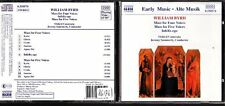 CD 1234  WILLIAM BYRD  MASS FOR FOUR VOICES
