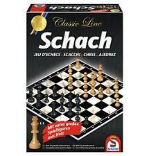 SCHACH / CHESS - CLASSIC LINE - Schmidt 49082 - NEU
