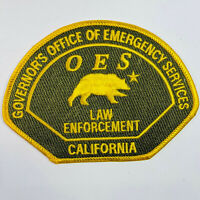 Governor's Office Of Emergency Services Law Enforcement California Patch (A4-A)