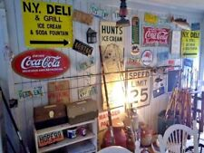 Georgia PEACH Retro License plates LOT Tags Man cave 1980s 90 decor auto GA COBB
