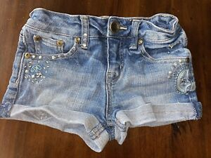 Girls Justice Jeans Shorts 8R