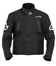 Acerbis Freeland Waterproof Jacket Black Large LG Riding Gear YZ KX RM SX NEW