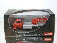 SCHUCO 03241 HANOMAG GARANT FEUERWEHR LADDER TRUCK - 1:43 - EXCELLENT IN BOX