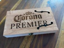 Cigar Box for DIY Project guitar with F hole and Corona Carving