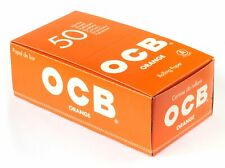 OCB Rolling Papers Regular Orange 50 Booklets FULL BOXES