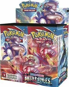 Pokemon Sword And Shield Battle Styles Booster Box -Sealed - PREORDER