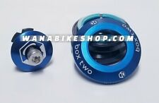 """Box Two 45x45 1"""" Integrated Conversion Headset Blue"""