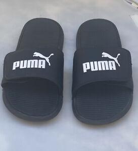 Puma Cool Cat Sport  Slides  Puma Black/Puma White  Size 11 US
