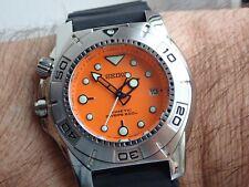 Seiko Big Boss 200m Diver Kinetic Watch SKA291 May 2005 Box Near Mint Rare Find