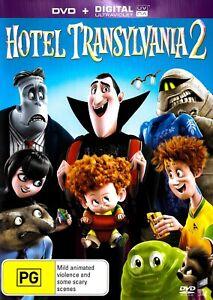 Hotel Transylvania 2 (+UV) -Rare DVD Aus Stock -Family -Excellent