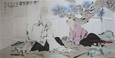 RARE LARGE Chinese 100%  Handed Painting By Fan Zeng 范增 DH3
