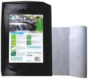 Swell UK Pond Liner - Lifetime Guarantee & Heavy Duty Underlay Garden Fish Ponds