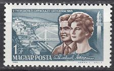 Ungarn / Hungary Nr. 2123 A** Besuch der Kosmonauten Tereschkowa / Nikolajew