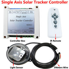 Single Axis Solar Tracker Controller 12V 24V Electronic Sun Tracking Controller