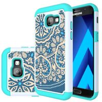 LEEGU Shock Absorption Dual Layer Silicone Plastic Samsung Galaxy  A5  2017 Case