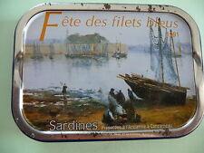 BOITE DE SARDINES CONCARNEAU LES MOUETTES D'ARVOR  MILLESIME 1991