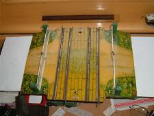 O GAUGE HORNBY VINTAGE DOUBLE TRACK LEVEL CROSSING IN ORIGINAL CLEAN CONDITION !
