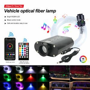 LED Sternenhimmel 100-450 Lichtfaser Glasfaser Optik Lichteffekte Fernbedienung