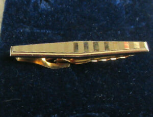 Vintage Smart Goldtone Tie Clip STRATTON 'NIPPY CLIP' Men's Accessory