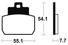 Plaquettes de frein Bendix MA331 Organique pour PIAGGIO