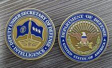 Deputy Under Sec of Defense Intelligence USAF 3 Star Flag