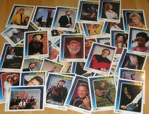 40 mixed lot 1992 Sterling Cards CMA COUNTRY GOLD Music Trading Cards