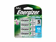NEW 4/pack AA Energizer Rechargeable NiMH Batteries AA4 Recharge 2300mAh