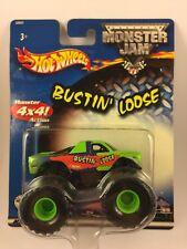 Hot Wheels Monster Truck Monster Jam Bustin' Loose Die Cast Metal 1/64 Scale