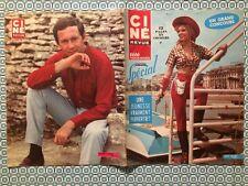Ciné Revue n 17 1967 Anny Nelsen Dorleac Deneuve Maclaine Joséphine Prichard