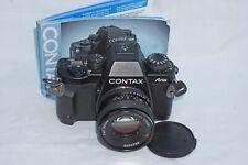 CONTAX ARIA 35MM FILM SLR CAMERA,PLANAR LENS.
