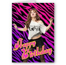 Debby Ryan, Jessie A5 Happy Birthday Card with Envelope