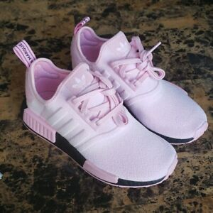 Rare Pink Adidas Originals NMD R1 Women's Athletic Sneakers - Size 6