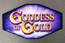 IGT Slot Machine Polygon Topper Insert GODDESS OF GOLD