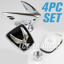 2010-2016 Hyundai Equus Hood Ornament & Rear Emblem (w/ Bracket & Nut Set) OEM