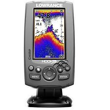 Lowrance Hook-4X Fishfinder with Mid/High transom mount transducer
