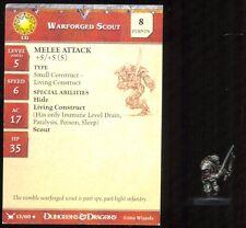 WOTC D&D MINIATURES WAR DRUMS 13 UNCOMMON IWARFORGER SCOUT