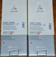 Kemon Actyva Unamy Thermo Active Straight.2 Cream 2 Boxes 250 ml 8.5 oz