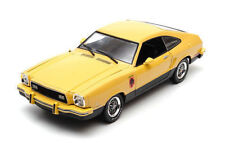 1:18 Greenlight - 1976 Ford Mustang II Stallion Yellow & Noir