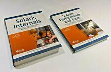 New listing Lot of 2 Hardback Sun Solaris 10 Open Internals + Performance & Tools Books Unix