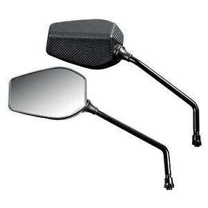 SPECCHIETTI DA MOTO LOOK CARBON LAMPA 90489