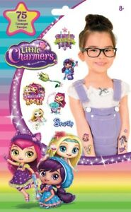 75 Little Charmers  Tattoos Party Favors Teacher Supply Hazel Lavender Posie