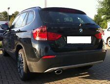 Auspuffblende Endrohr Blende BMW X1 E84 CHROM-LOOK EDELSTAHL