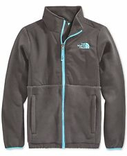 The North Face Little Girls' Denali Jacket Size XS 6 Graphite Grey