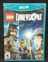 Lego Dimensions Game Only - Nintendo Wii U Brand New Factory Sealed