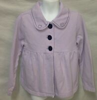 Gymboree Petite Mademoiselle Lavender Purple Swing Cardigan Jacket Girls Size 6
