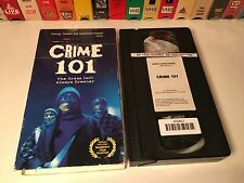Crime 101 aka Scarfies New Zealand Dark Comedy VHS 1999 Willa O'Neill Neill Rea
